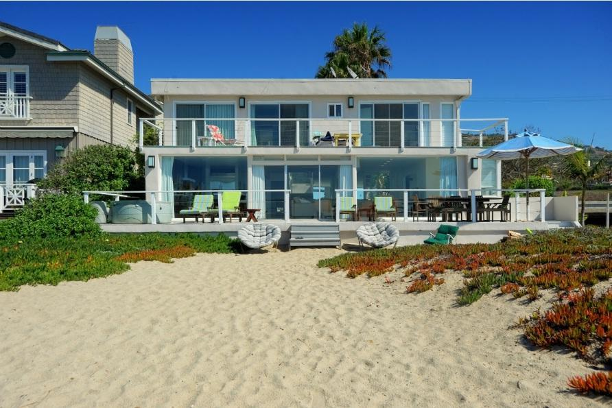 modern malibu beach house in malibu vacation rental in