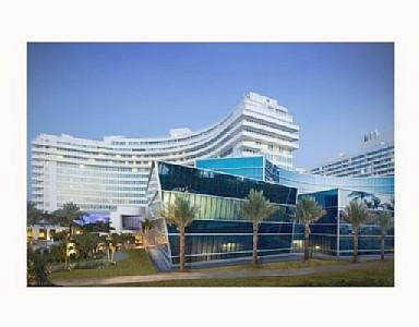 1000 Square Foot Residence at the Fontainebleau Resort and Spa