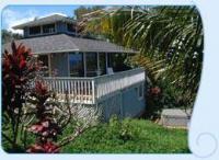 Kilauea vacation rental: Plumeria Moon - 1BR Cottage