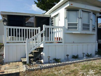 3BR Mobile HOME 500 FEET FROM OCEAN PRIVATE COMMUNITY