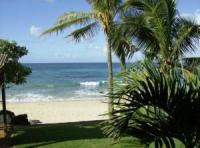 Haleiwa vacation rental: Tropical Beachfront Main
