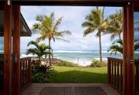 Haleiwa vacation rental: Tropical Beachfront and Studio