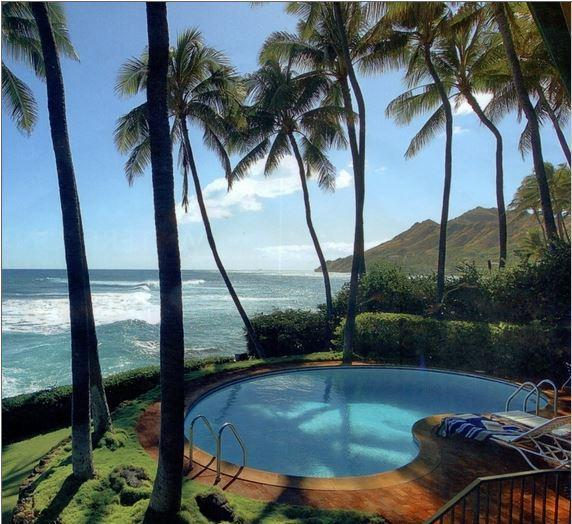 Beach House For Rent Oahu: Diamondhead Oceanfront Retreat, Vacation Rental In Diamond
