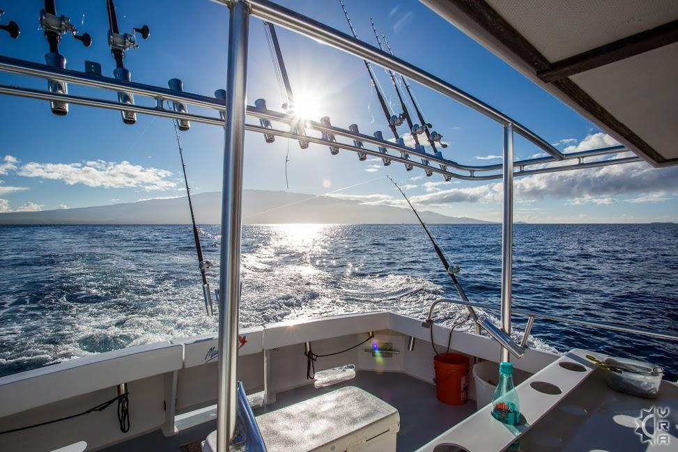 Deep Sea Fishing With Maui Fun Charters In Maalaea Maui